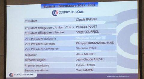 La CCI du Puy de Dôme connait son nouveau président