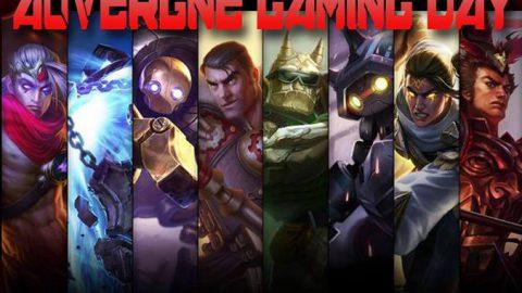 Auvergne Gaming Day les 6 et 7 Mai à Clermont-Ferrand