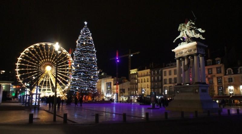 Le Marché de Noël à Clermont-FD