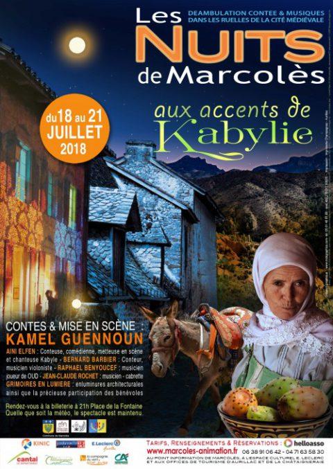 «Les Nuits de Marcolès» aux accents de Kabylie