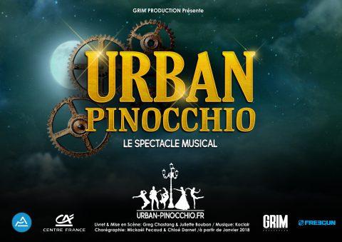 Un spectacle musical sur Pinocchio dans la région
