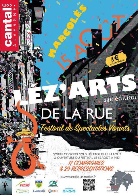 Les Léz'arts de la rue envahissent Marcolès