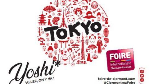 Cap sur Tokyo pour la Foire Internationale de Clermont-Cournon 2019