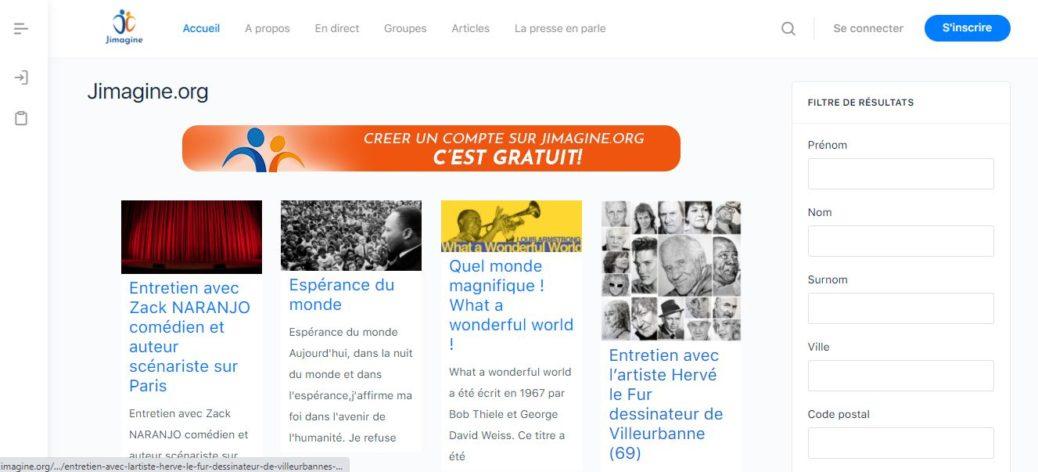 La nouvelle version de jimagine.org est en ligne